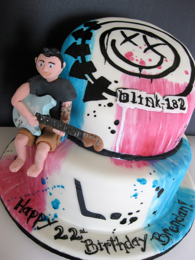 Blink 182 Birthday Cake