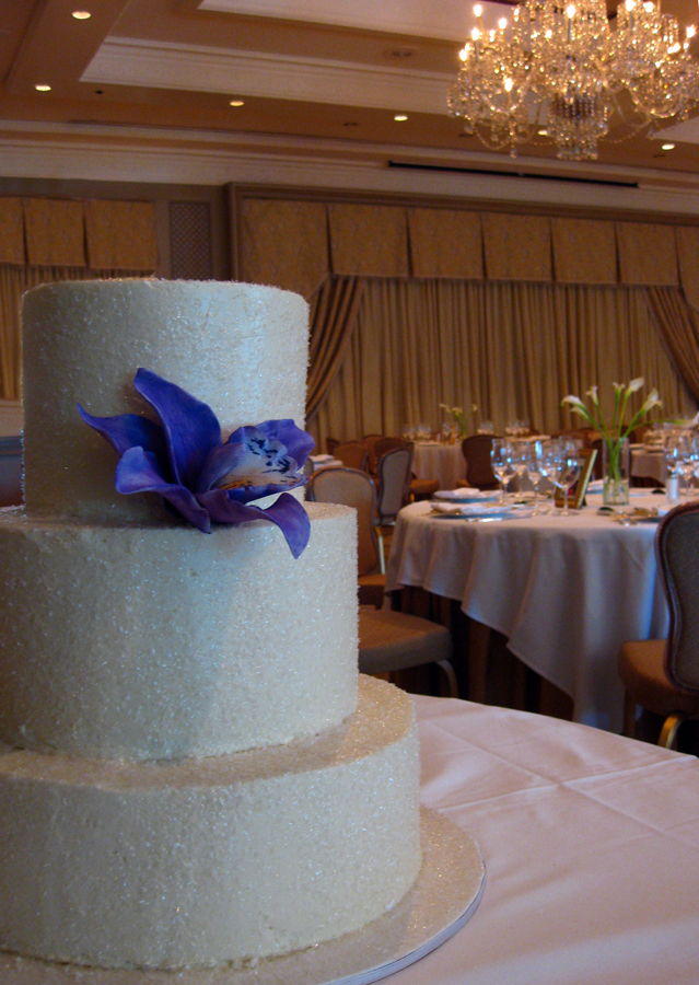 Sparkle Winter Wedding Cake