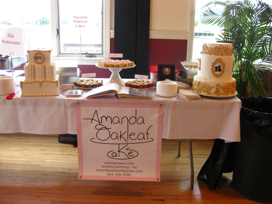 Amanda Oakleaf Cakes at the Taste of Winthrop