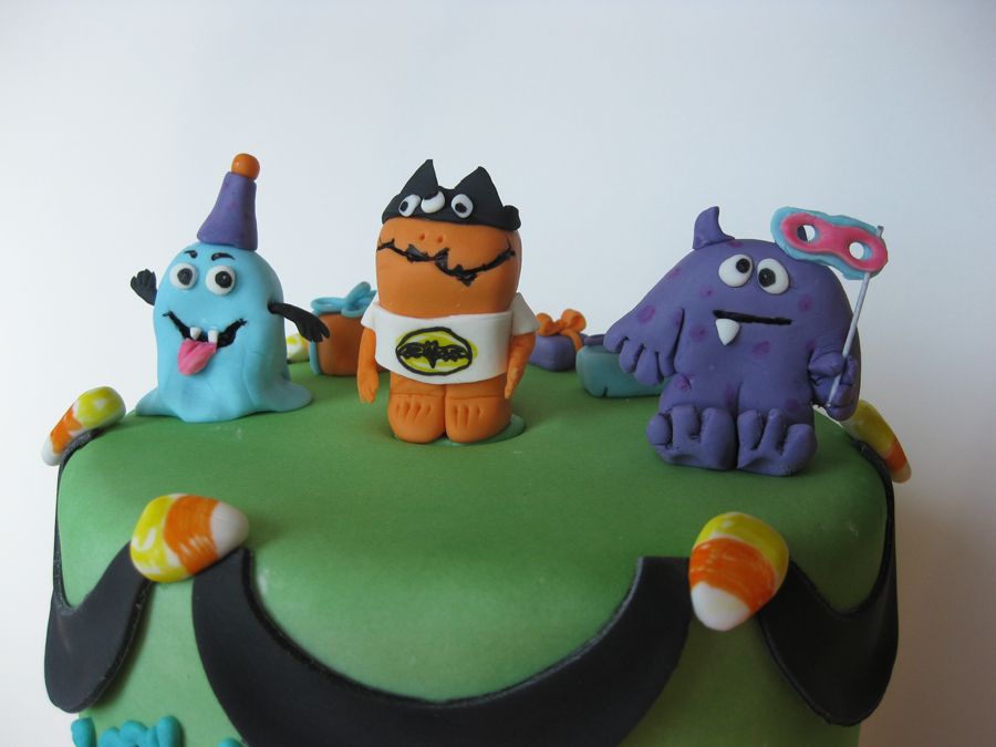 Halloween Monster Birthday Cake