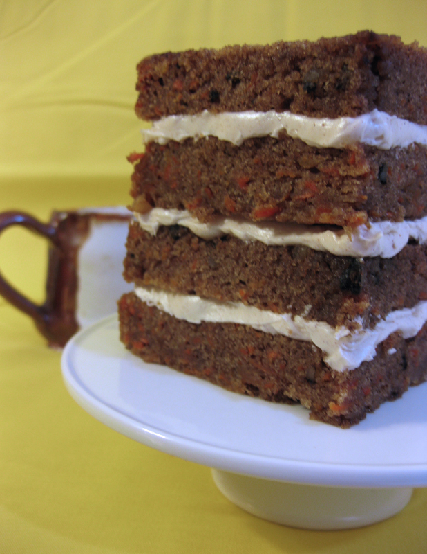 Carrot Cake from Amanda Oakleaf Cakes
