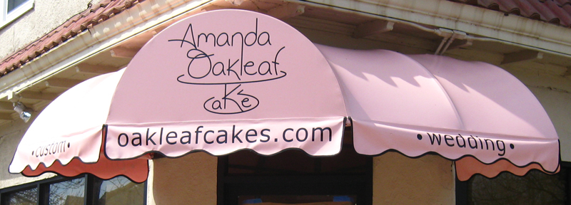 Amanda Oakleaf Cakes, Winthrop, MA, just north of Boston