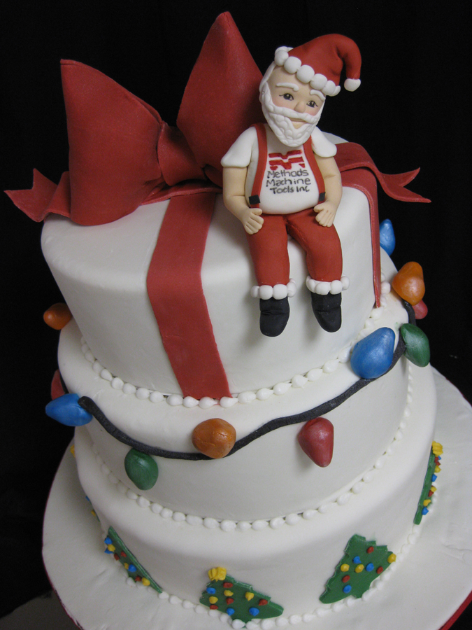 Christmas Cake Ideas Santa : Deck the blog with Christmas cakes?fa, la, la Blog ...