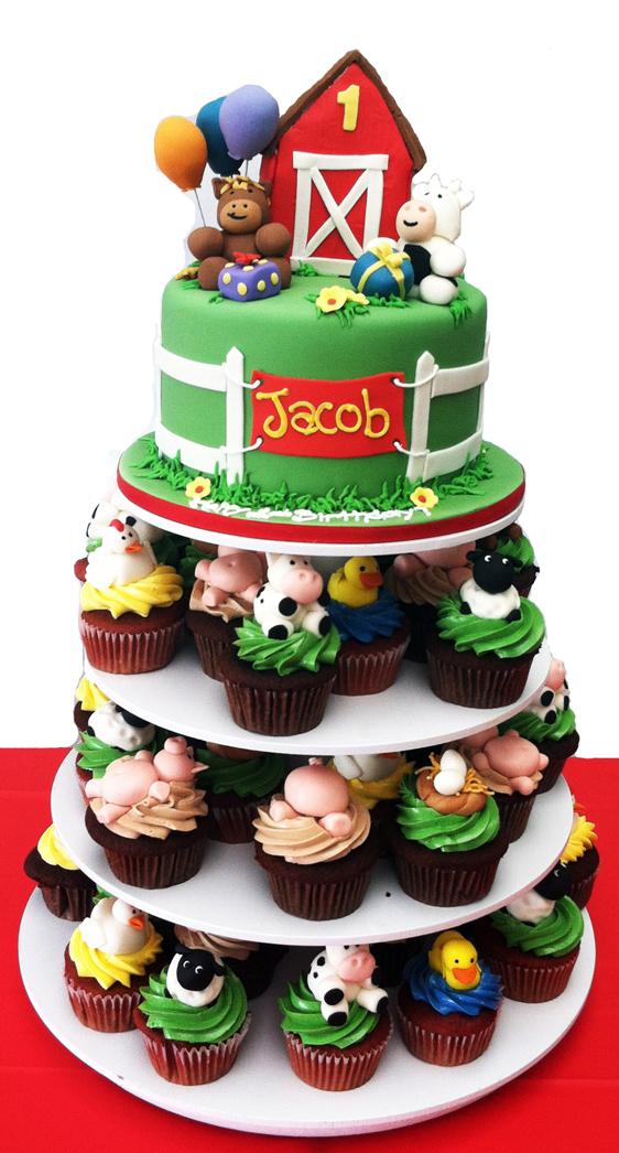 Old Macdonald Birthday Cake