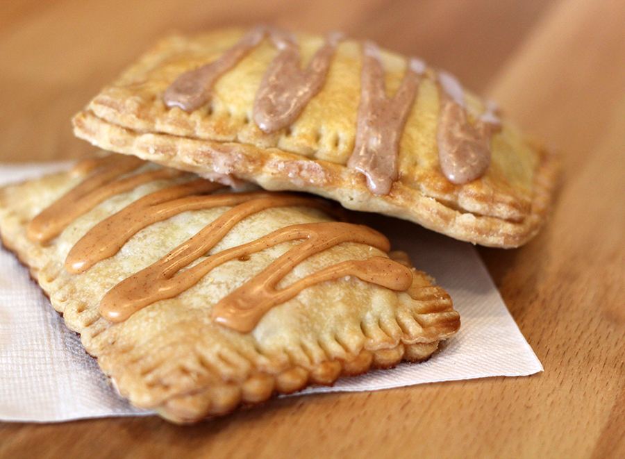 Pumpkin and Apple Poptarts med
