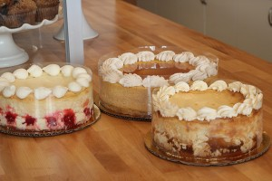 Thanksgiving Pie Cheesecake Trio