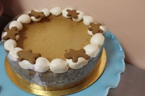 gingerbread cheesecake