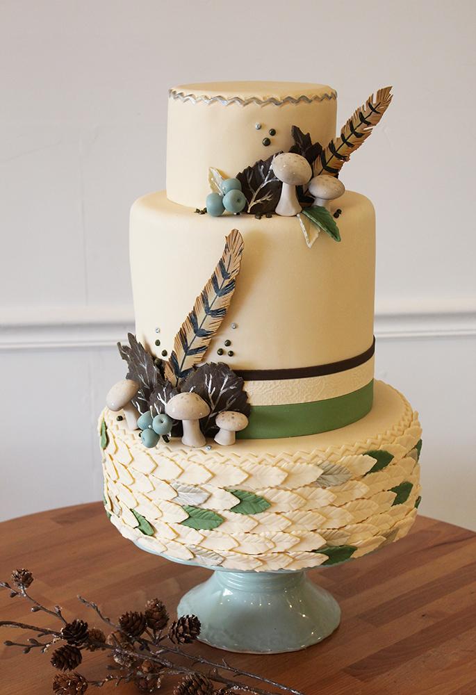 New Winter Cake Designs! Blog.OakleafCakes.com